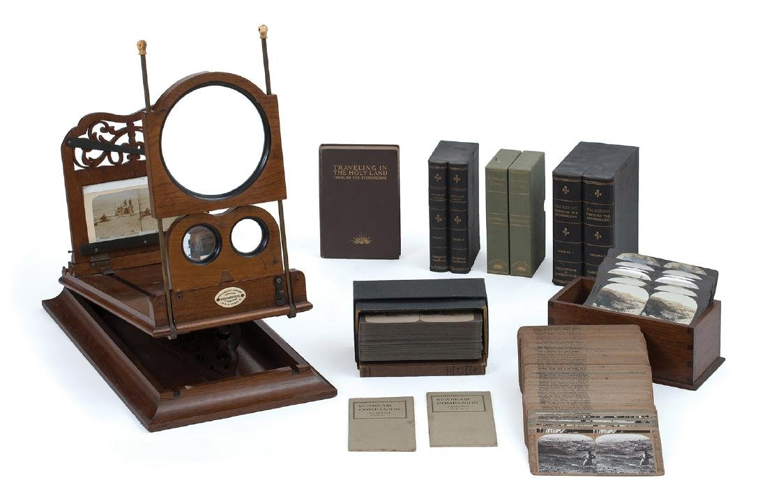 Large Collection of Stereoscopic Photographs of