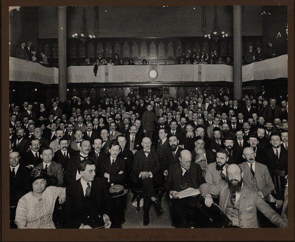Thirteenth Zionist Congress in Carlsbad / London Conven
