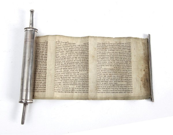 Esther Scroll with a Silver Case – Germany