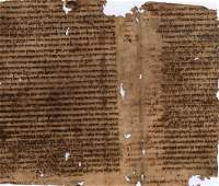 Remnants of an Ancient Manuscripts from Spain and
