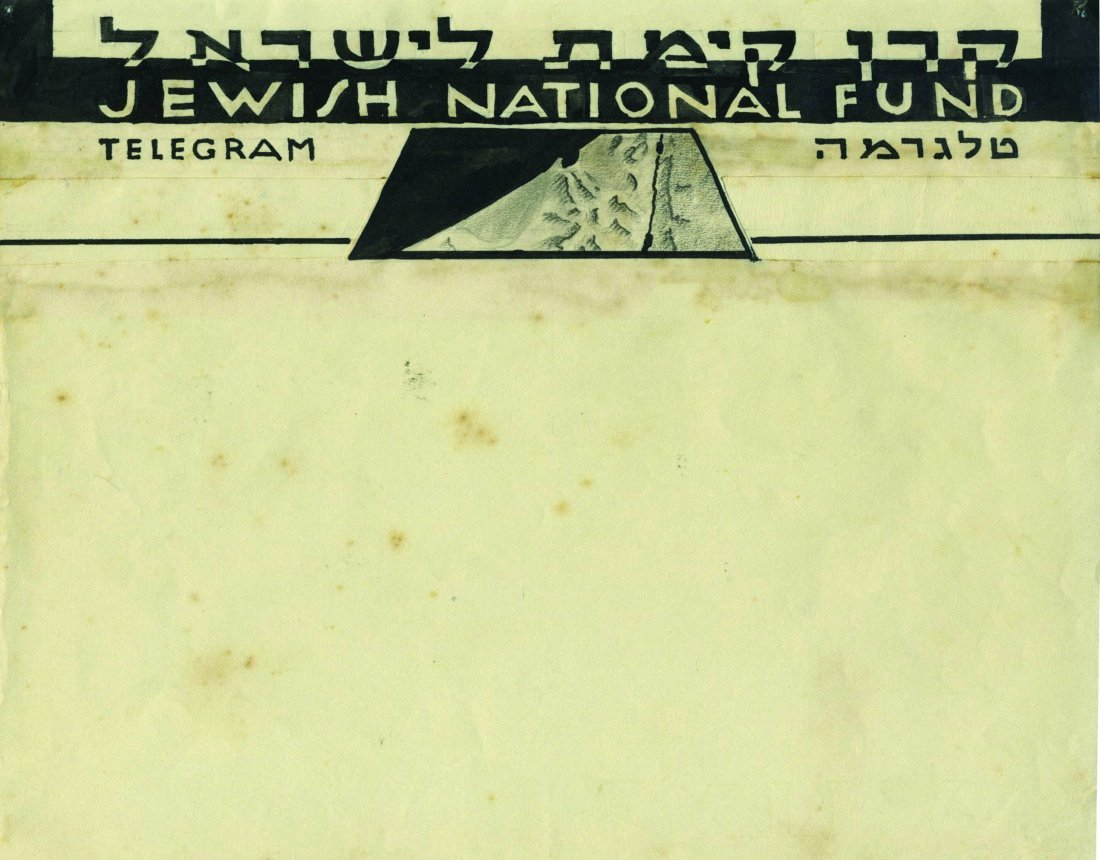 Sketches for Telegrams - JNF