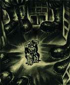 Alex Leon  Original Drawing 1935