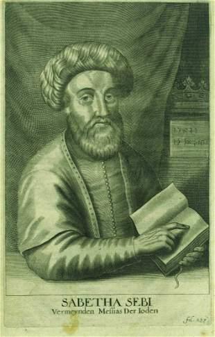Sabbatai Zevi - Etching