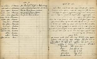 "Notebook - ""Dorshei Zion"" Society - Liverpool"