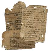 """Fragments of Ancient Manuscripts from the """"Binding"""