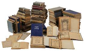 Large Collection of Books Printed by Holocaust