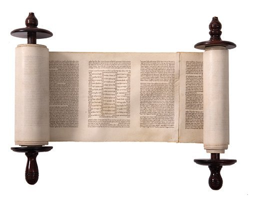 Small Torah Scroll - Eastern Europe - 19th Century -