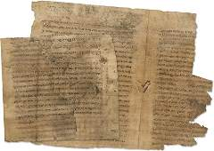 Fragments of an Ancient Manuscript - 15th/16th Century