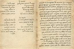 Collection of Ancient Manuscripts - Italy and Oriental