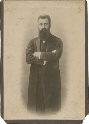 Theodor Herzl - Portrait Photograph - Basel