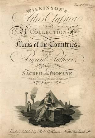 Wilkinson's Atlas Clasica - London, 1820