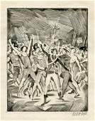 """Das Buch Le Grand"" by Heinrich Heine - Etchings by Max"