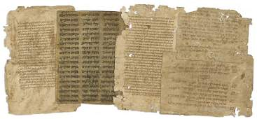"""Collection of Leaves Removed from the """"Binding Geniza"""""""