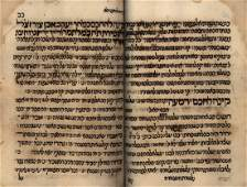 Large Collection of Various Manuscripts - Oriental