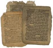 Collection of Ancient Manuscript Remnants - Yemen,