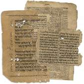 Collection of Manuscripts - Sections of the Taj Torah