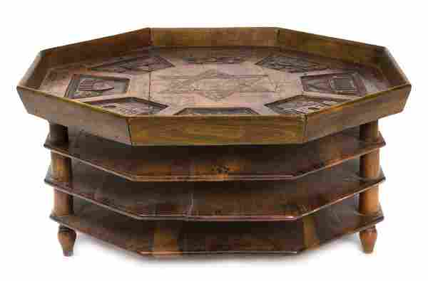 Passover Seder Plate - Olive Wood