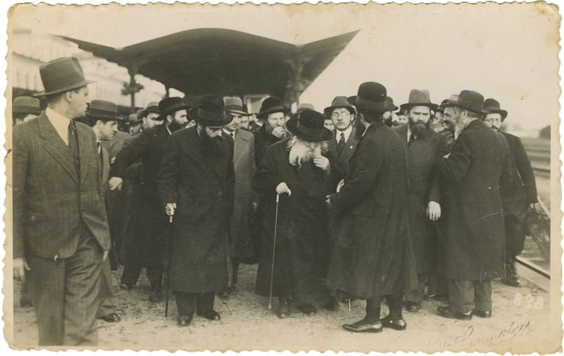 Collection of Photos of the Rebbe, Author of Imrei Emet