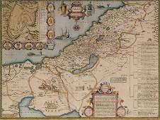 Map of Canaan - John Speed - London