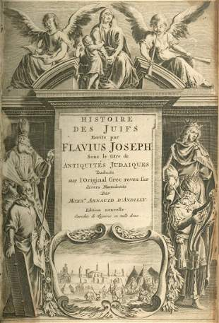Antiquities of the Jews - French Edition - Engravings