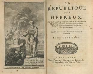 he Republic of the Hebrews - Amsterdam, 1705