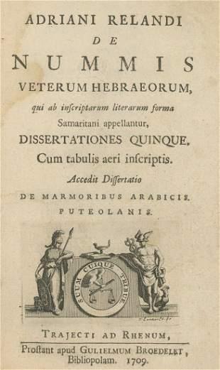 De Nummis Veterum Hebraeorum - Engravings - Utrecht,