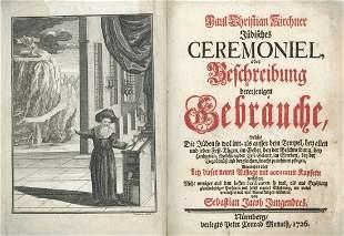 Jewish Ceremonies and Customs - Engravings - Nuremberg,