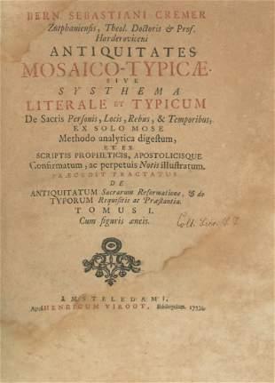 Antiquitates Mosaico-typicæ - Engravings Portraying