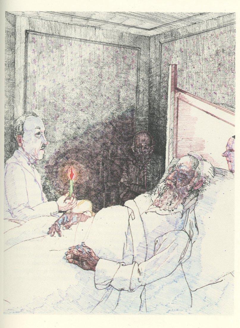 """The Trial"" - Franz Kafka - Illustrations by Alan E."