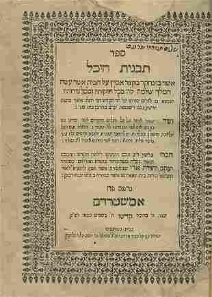 Tavnit Hechal - Amsterdam, 1650 - Signature of Rabbi