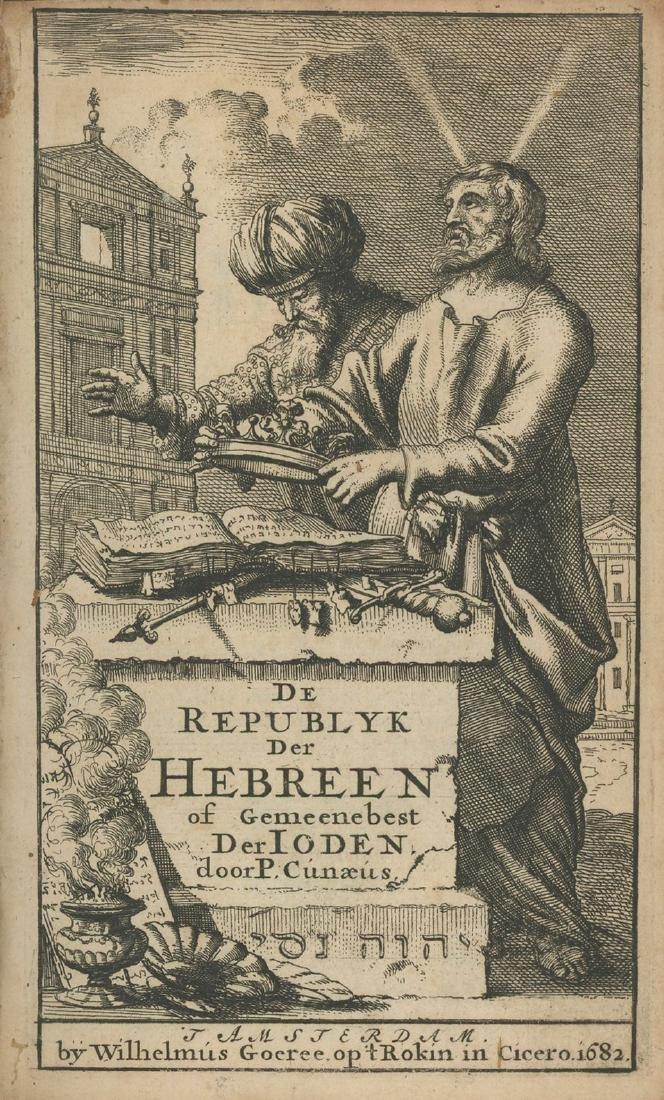 epublic of the Hebrews - Petrus Cunaeus - Engravings -