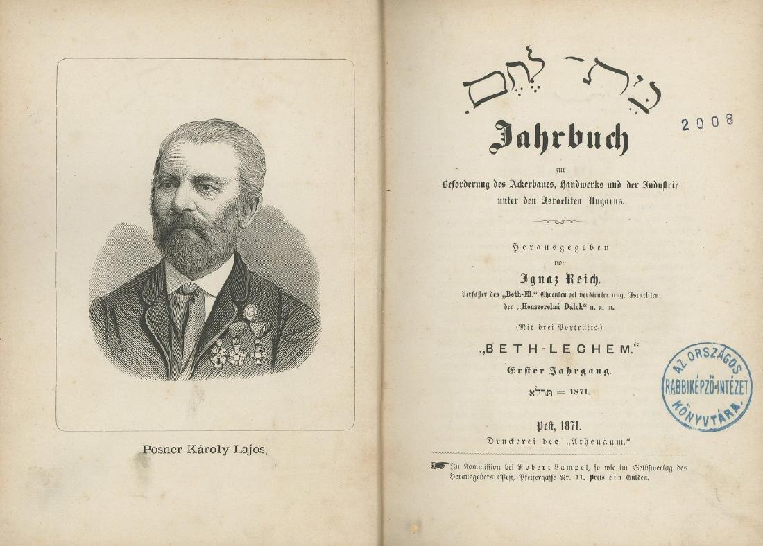 Bethlehem - Ignaz Reich - Budapest, 1871-1874 -