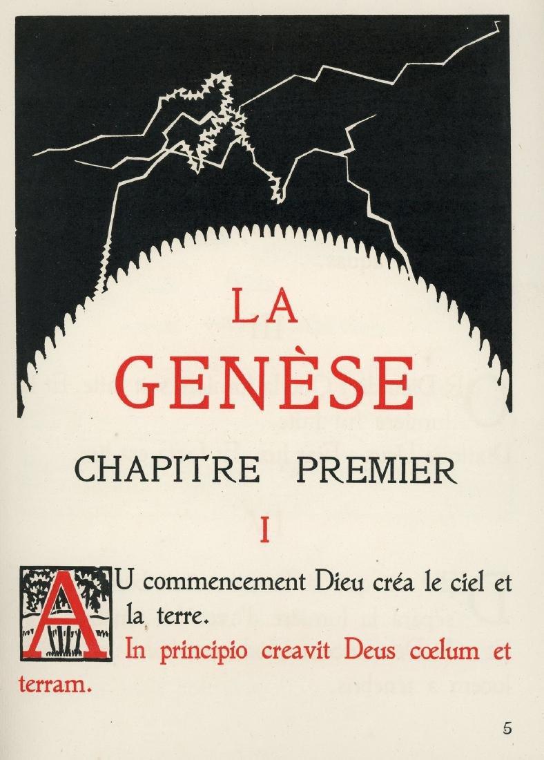 Liber Genesis - Woodcuts created by Hermann-Paul -