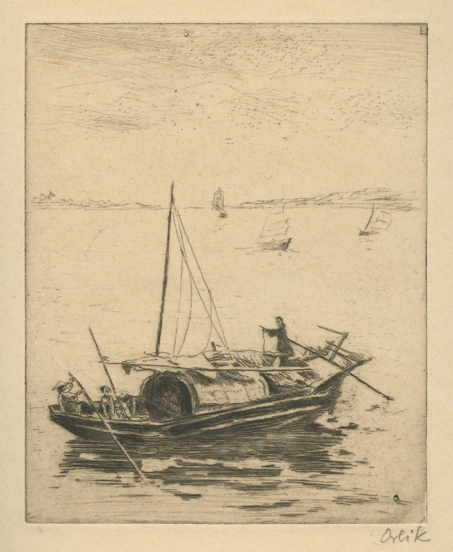 Li - Engravings by Emil Orlik - Berlin, 1925 - Luxury