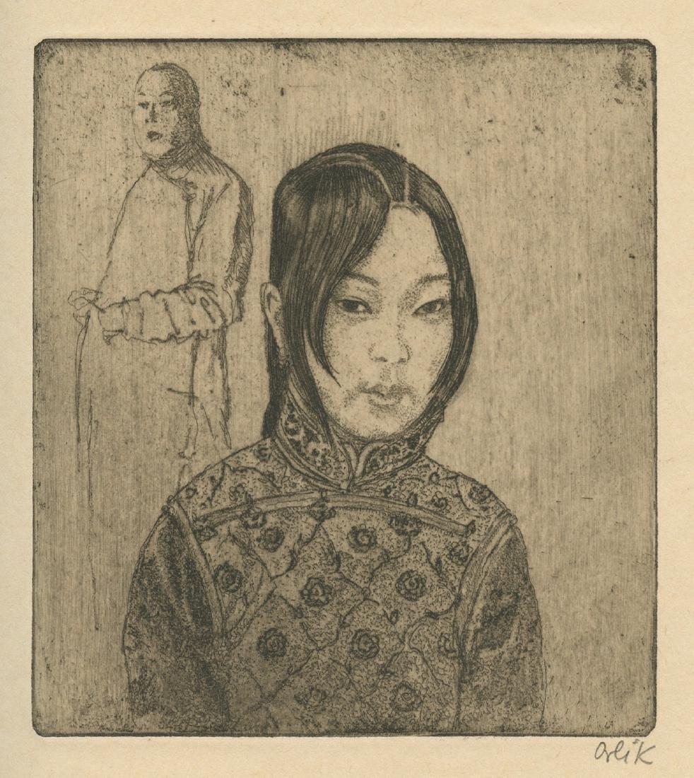 Li - Engravings by Emil Orlik - Berlin, 1925 - Luxury - 2