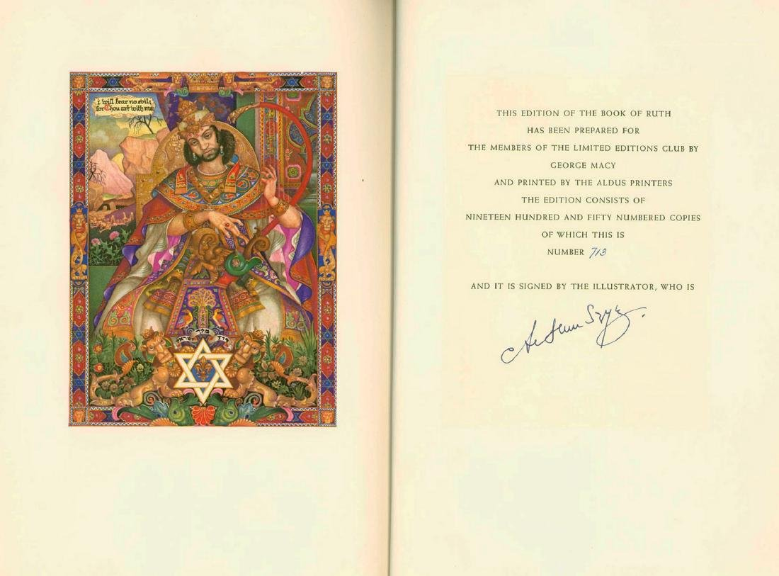 Arthur Szyk - Illustrations for the Book of Job and the