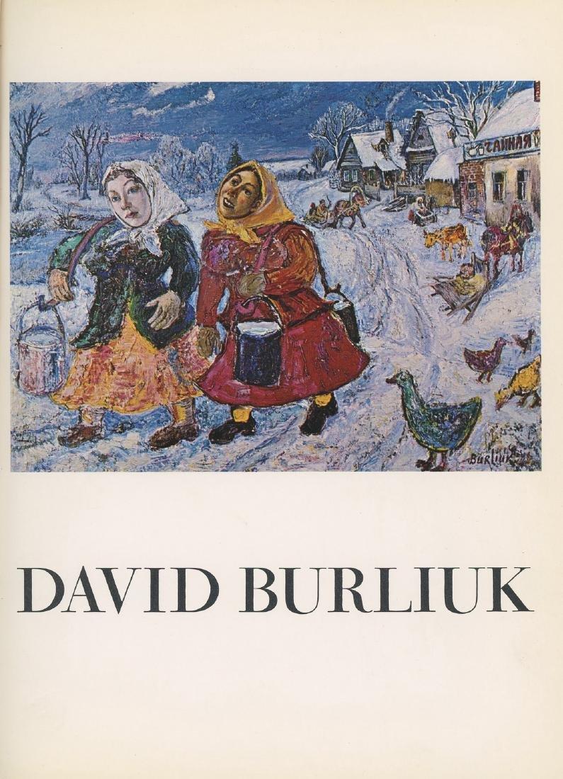 David Burliuk - Three Albums