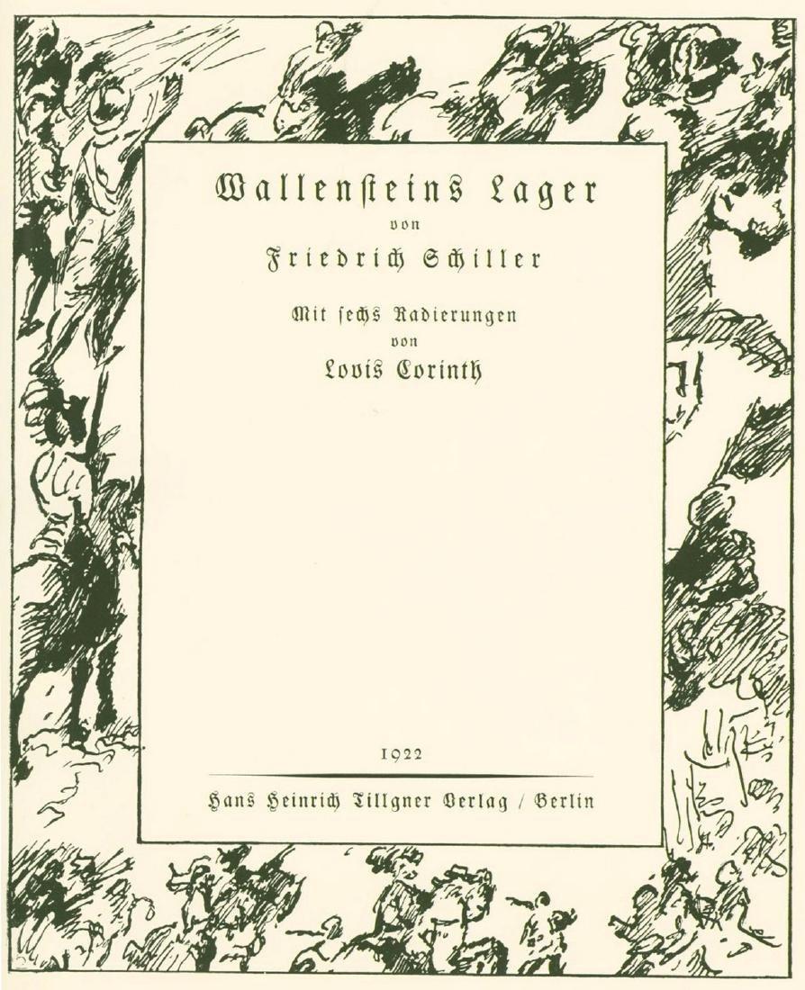 Wallensteins Lager - Engravings by Lovis Corinth -