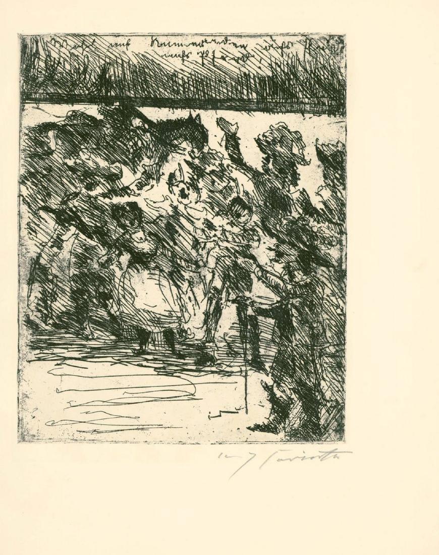 Wallensteins Lager - Engravings by Lovis Corinth - - 2