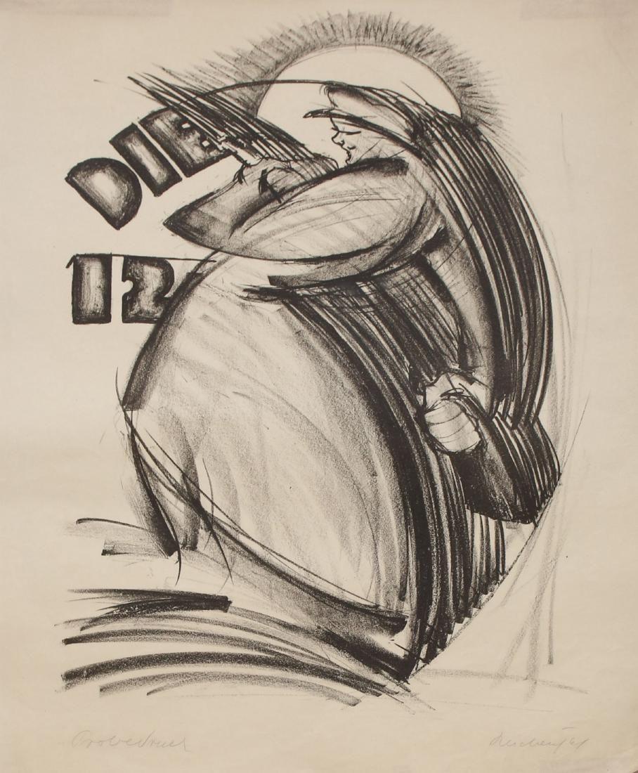 Franz Reichental - Lithographs Portfolio - Vienna, 1924