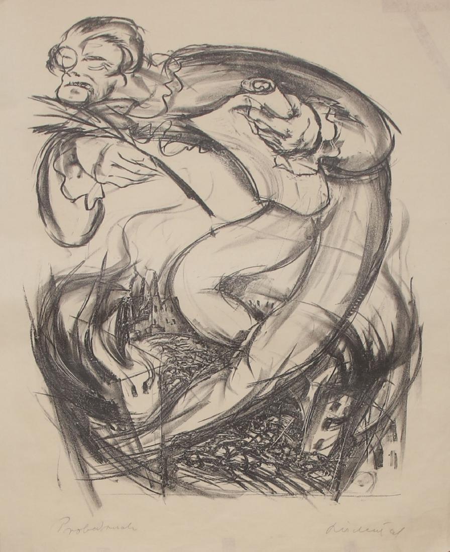 Franz Reichental - Lithographs Portfolio - Vienna, 1924 - 2