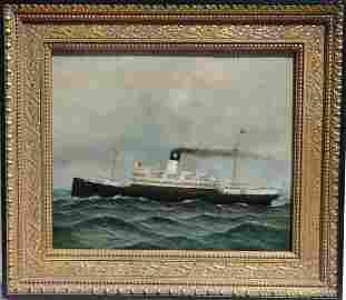 Steamship by D. Tayler
