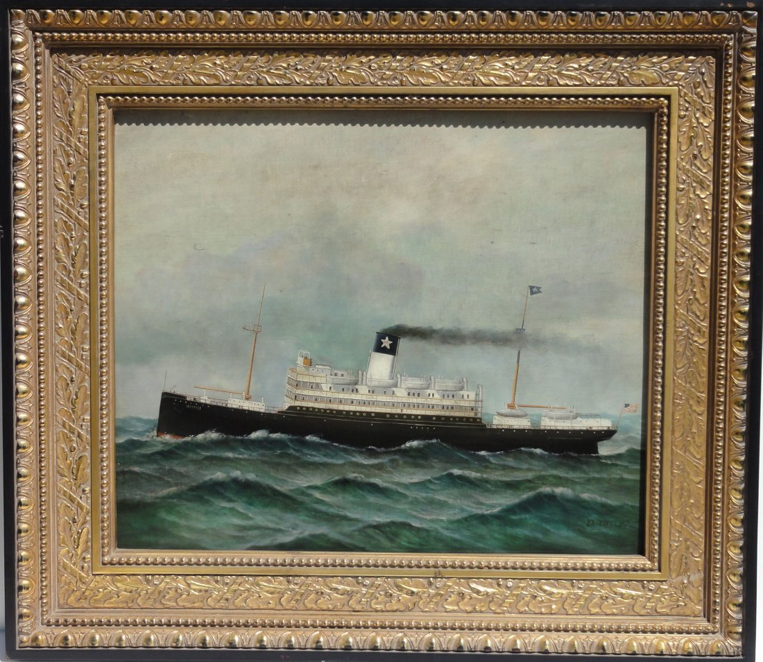 Steamship by D. Tayler