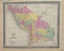Peru & Bolivia by Mitchell, 1850