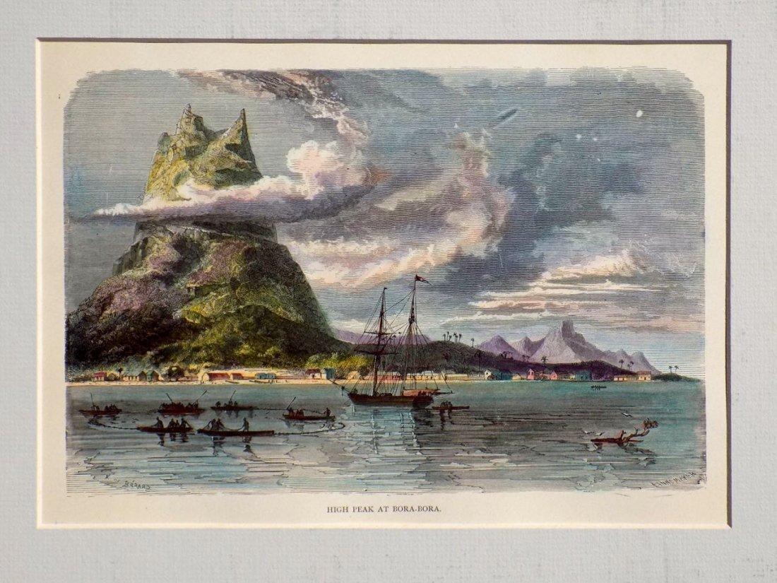 High Peak at Bora Bora, French Polynesia, 1880 - 2