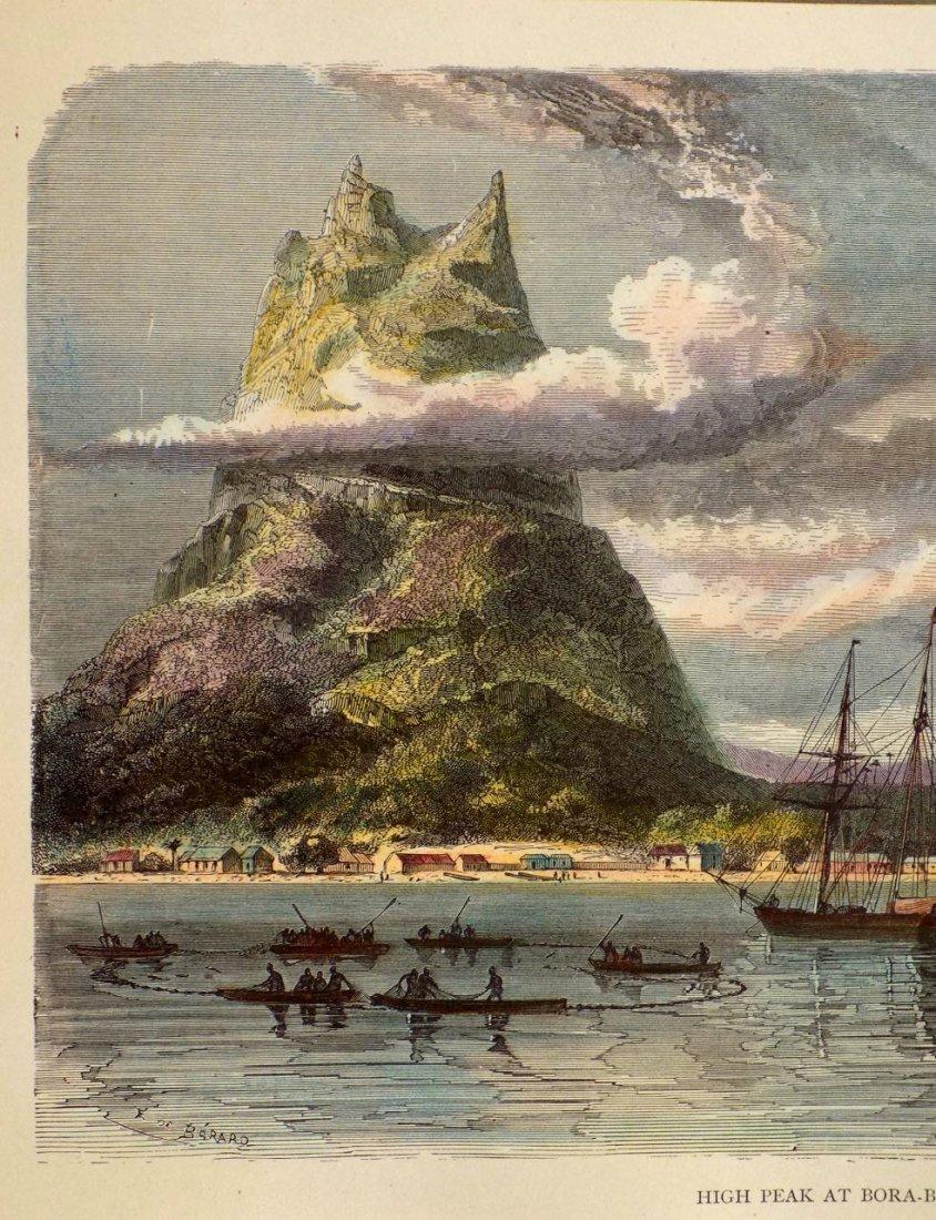 High Peak at Bora Bora, French Polynesia, 1880 - 3