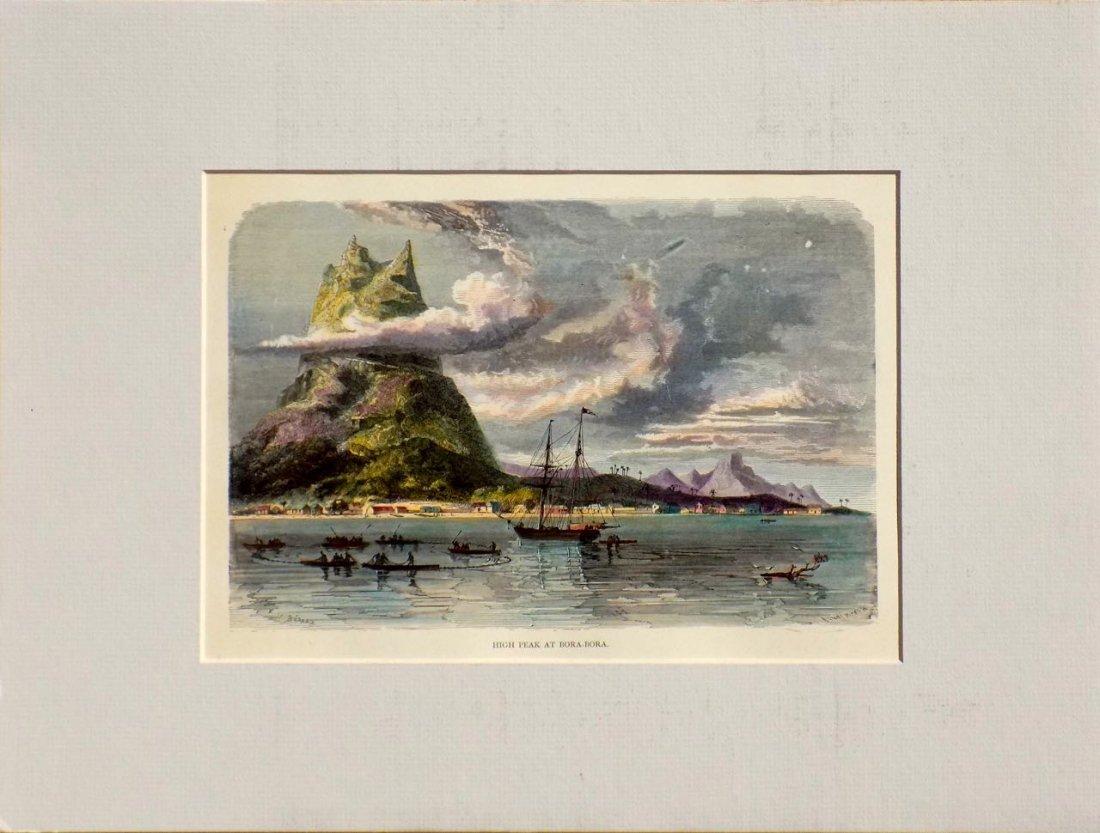 High Peak at Bora Bora, French Polynesia, 1880 - 4