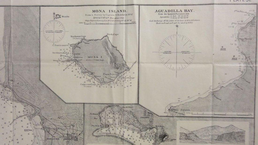 Puerto Rico: Mayaguez, Mona Island, Aguadilla, 1855 - 4