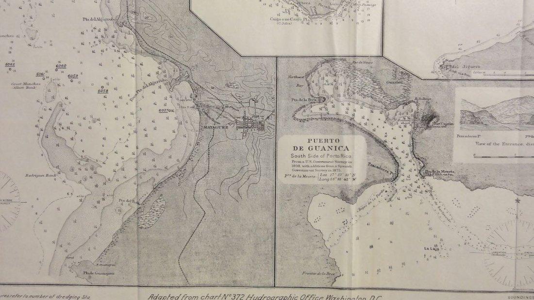 Puerto Rico: Mayaguez, Mona Island, Aguadilla, 1855 - 6