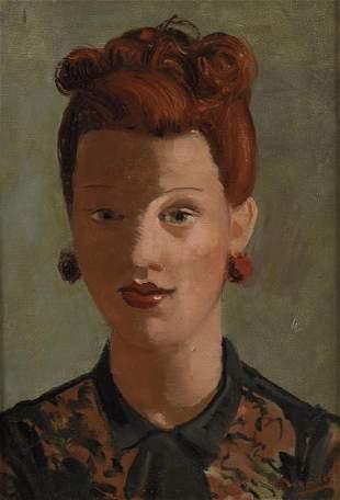 André DERAIN (1880-1954) La rousse Huile sur toile,